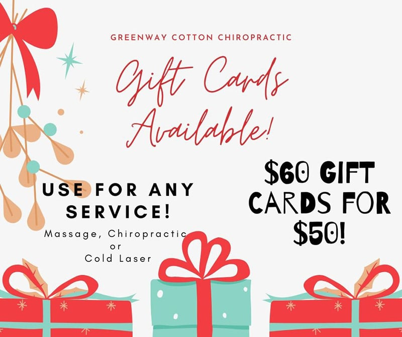 Greenway Cotton Chiropractic Surprise AZ Happy Holidays