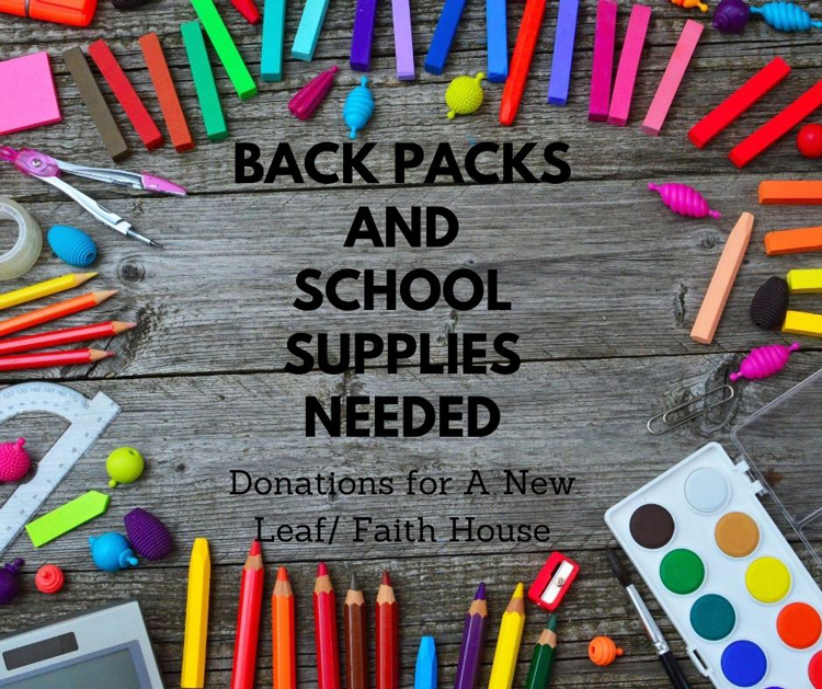 Backpacks and School Supplies Event at Greenway Cotton Chiropractic and Body Harmony Massage